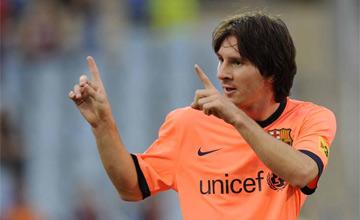 Messi, después de dos semanas de pesadilla en Argentina, recuperó la sonrisa con el Barcelona